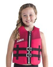 JOBE Neopren Vest Kids Neo Vest Kinder Schwimmweste Neoprenwest pink