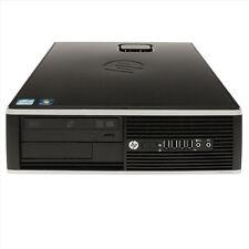 Lot of 2 - HP Pro 6300 i5-3470 QC 3.2GHz 4GB 500GB Win 10 SFF Desktop D8C56UT