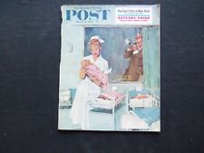 1961 MARCH 11 THE SATURDAY EVENING POST MAGAZINE- SATCHEL PAIGE ARTICLE- SP 2266