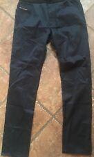 DIESEL Men's Navy Blue P-Farnello-Rib Small Stretch Waist Trouser Pants New NWT