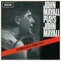 John Mayall - Plays (Live At Klooks Kleek) (NEW CD)