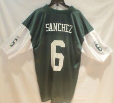 MARK SANCHEZ #6 NEW YORK JETS JERSEY MENS SIZE XL NFL