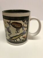 Fishing Lure Coffee Mug Cup Jon Q Rivers Edge Products REP Ceramic Collectible
