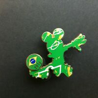 2014 World Cup Mickey Mouse - Disney Pin 101156