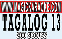 MAGIC SING ONSTAGE XTREME VOL3. TAGALOG 13 FOR ET28KH SONGCHIP TAGALOG/ENGLISH