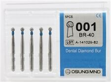 Dental Diamond Burs, Standard Grit Multi-Use, 5 Pcs/Pk [001BR-40]