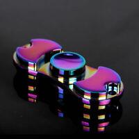 New Edc Spinner Finger Time Tri Hand Gyro Alloy Stress Focus Long Fidget Toy