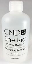 CND Shellac Power Polish Nourishing Nail Remover 8oz + Free Shipping