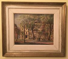 """Original huile sur carton de """"Park Lane-début du printemps de Londres"""" par Kenneth Graham"""