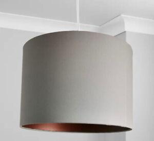 New HQ Classic Grey Bronze effect Light lamp shade Pendant Light Shade(D)30cm