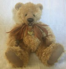 """20"""" Mohair Teddy Bear By The Late Pamela Wooley / From Her Private Collection"""