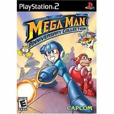 Mega Man Anniversary Collection complete in case w/ manual Sony PlayStation 2