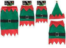 Elf Pet Costume - Christmas Pet Suit -  Size Small 30cm (PM19-SMALL)