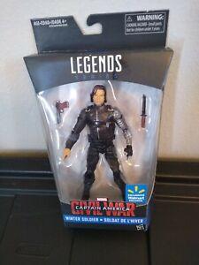 "Marvel Legends BAF 6""~~Civil War Winter Soldier Walmart EXCL Action Figure~~NIB"