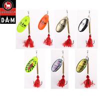 DAM Effzett Shallow Runner Spinner Fishing Lure 5.5g 7.5g 11g Various Colours
