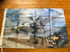 Mosquito fighter bomber Ww2 Royal Air Force war man cave flag raaf australia