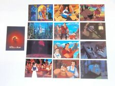 1992 DISNEY BEAUTY AND THE BEAST BASIC TRADING CARD SET SCRATCH COLOR-IN INSERT!