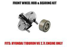 Fits:Front Wheel Hub & Bearing Kit Assy Hyundai Tiburon 2.7L V6