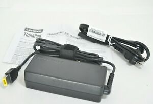 Genuine Power AC Adapter With Cord For Lenovo ThinkPad 65 Watt ADLX65NDC2A