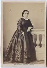 Melle Marty Actrice Ambigu Théâtre cdv Photo A. Giroux Vintage albumine ca 1860