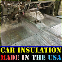 Automotive Lightweight Thermal Insulation Sound Deadener /& Heat Barrier Mat 50 Sqft 4 x 12.5 Roll Car Insulation