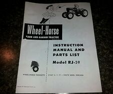 s l225 wheel horse lawnmower accessories & parts ebay Wheel Horse Tractor Wiring Diagram at bakdesigns.co