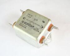 New Corcom 3W1A 120/250V AC 3A Power Line Filter 60Hz EMI