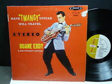 "DUANE EDDY Hhave ""twangy"" guitar will travel JAMIE JLP 70 3000"