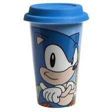 Officiel Sega Sonic The Hedgehog porcelaine Isotherme Voyage Tasse