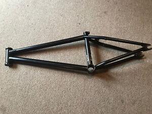 """S&M Whammo V1 BMX Frame Black 21""""TT"""