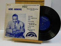 Gene Ammons Volume One 10 inch 33 RPM DG Ear Flat Edge on Prestige
