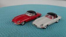 Tekno Kirk Dänemark Jaguar E-Type Cabriolet Rot + Weiß mit Hard Top
