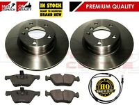 FOR BMW 5 SERIES F10 518D 520D REAR 330mm VENTED BRAKE DISCS PADS 2010-