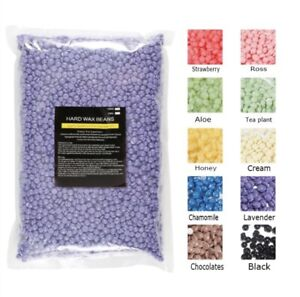 Hard Wax Beans Pellet Hot Brazilian Waxing Beads Body Hair Removal UK Fast Post