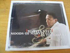 MARVIN GAYE MOODS OF MARVIN GAYE & IN THE GROOVE  CD SIGILLATO 2 LP IN 1 CD RARO