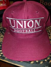 VINTAGE UNION FOOTBALL SNAPBACK HAT CAP  NEVER WORN MADE BY THE GAME ULTRARARE!