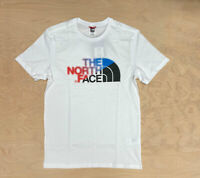 The North Face Bad Glasses  Easy T Shirt White Blue Multi SS Mens