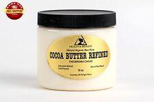COCOA / CACAO BUTTER ULTRA REFINED ORGANIC NATURAL RAW GRADE A PRIME 32 OZ, 2 LB