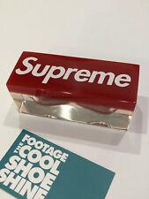 SUPREME BOX LOGO SAND HOURGLASS TIMER RED
