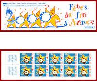 France 1999 carnet Croix Rouge ** MNH, fêtes de fin d'année, non-plié