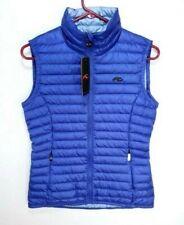 NEW KJUS Cypress Purple Blue Goose Down Women's Vest Size 36 US S LC40-800