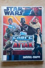 Star Wars Force Attax 1  komplette Sammel-Mappe mit 240 Cards +3  limitierte RAR