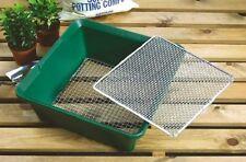 Garland in acciaio zincato 2 nel 1 a maglia fine Setaccio Compost giardinaggio Riddle G104