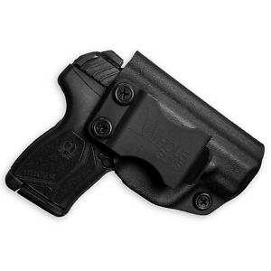 WHOLEGUNS IWB Kydex Holster Ruger LCP Max - Full Cover Classic
