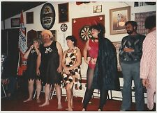 Vintage 80s PHOTO Adults In Halloween Costume Contest
