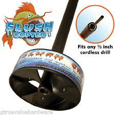 SLUSH COPTER NEW Removes Pushes Slush back down the hole Ice Fishing Castle