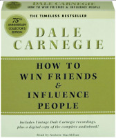 How to Win Friends and Influence People by Dale Carnegie (2011, CD, Abridged)