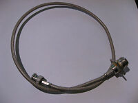 "Coaxial Patch Cable N-Female Flanged to BNC Male 24"" approx. USED Qty 1"