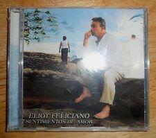 """Eliot Feliciano: """"Sentimientos de Amor"""" (poesía romántica) poetry album"""
