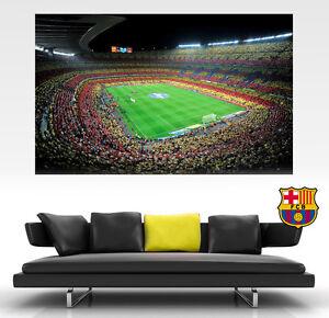 NOU CAMP BARCELONA FC LARGE Poster CAMP NOU FOOTBALL Wall Art GIANT Best on Ebay